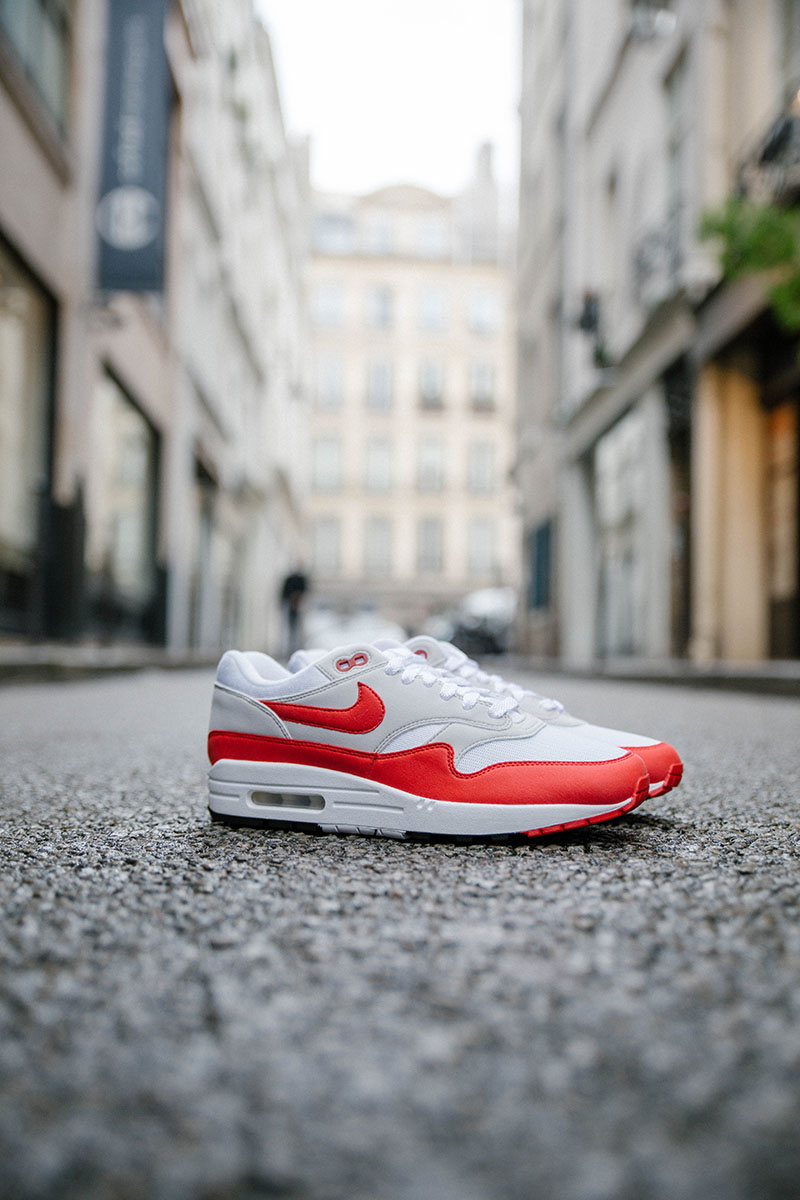 bdf06c0c68 30 years of Air max, 1987/2017. The iconic Air Max 1 is back with a the OG  red color way and a pretty damn good shape. Available in store 23/09, ...