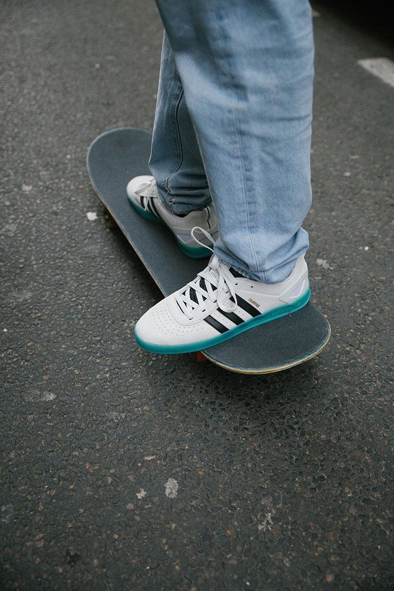 official photos 9a9da 5d3ad ... cheap news in from adidas skateboarding. the palace pro is reworked in  honor of chewy