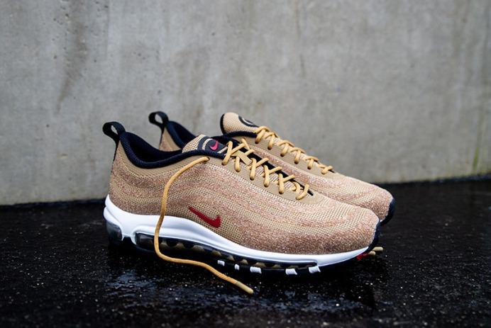 8238813980ce Nike AM97 Gold x Swarovski.