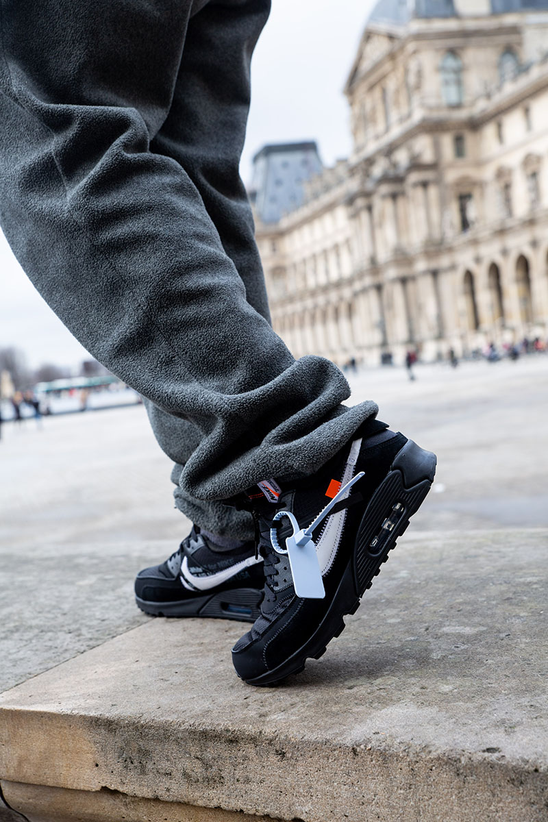 nike air max 90 off white raffle